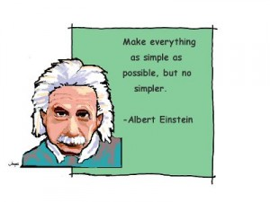 make things simple