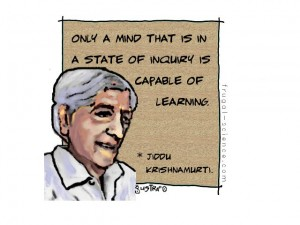 Krishnamurti on learning