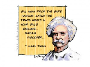 mark twain on exploring