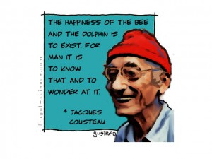 jacques cousteau quote